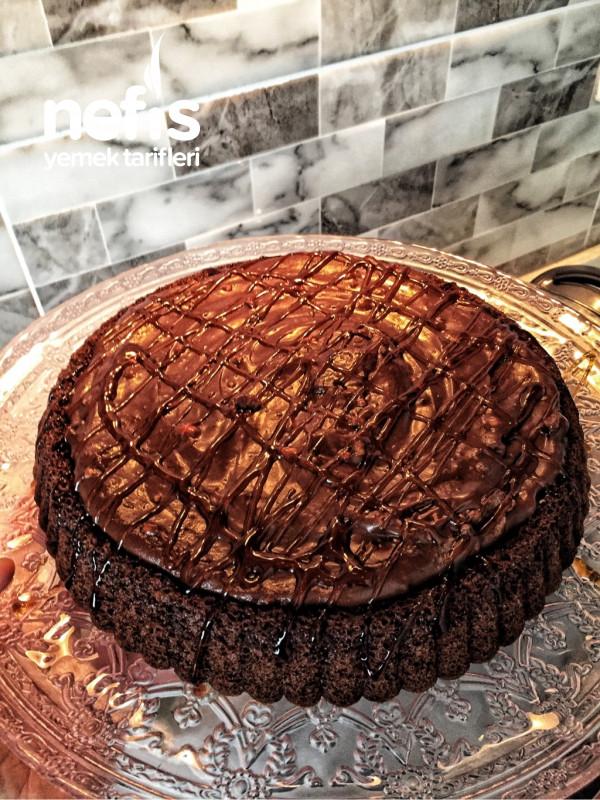 Çikolatalı Karameli Tart