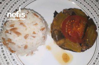 Güveçte Porsiyonluk Patlıcan Kapama Tarifi