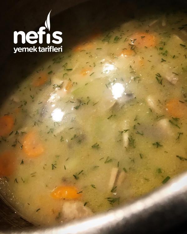 Sebzeli Kremalı Mantar Çorbası