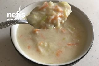 Sebzeli Süt Çorbası 12+ Tarifi