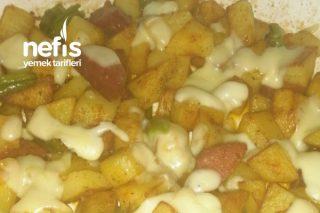 Sucuklu Kahvaltılık Patates Tarifi