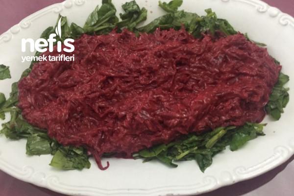 Yoğurtlu Rokalı Pancar Salatası Tarifi