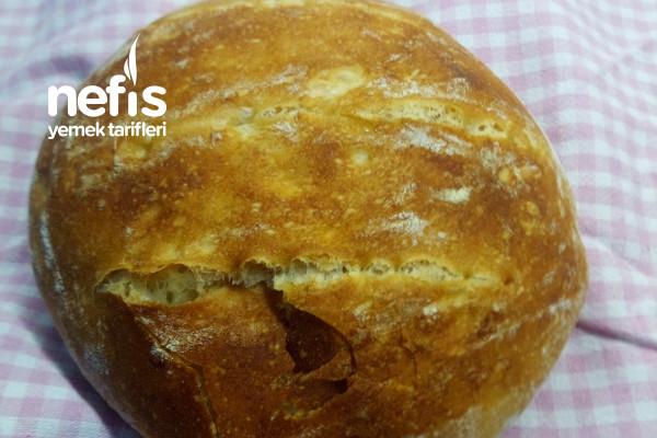 Yoğurulmayan Ekmek Tarifi