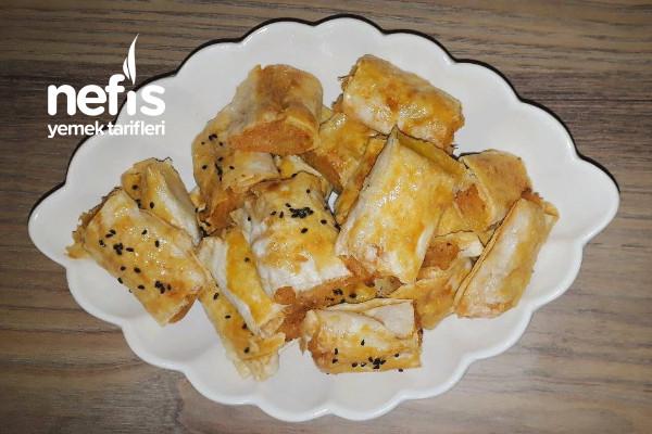 4 Yufkadan 56 Adet  Börek (Kalabalık Misafirlere) Tarifi