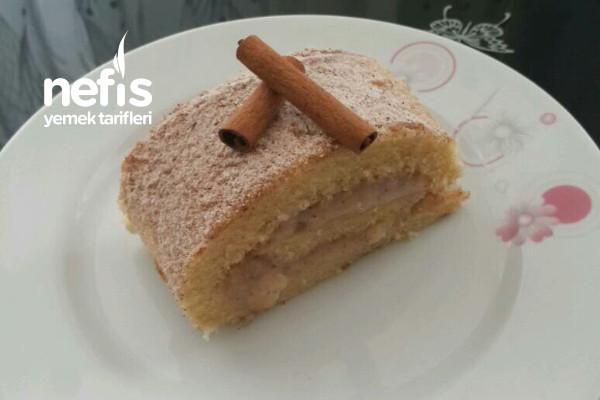Bol Tarçın Sevenlere Tarçınlı Elmalı Rulo Pasta Tarifi