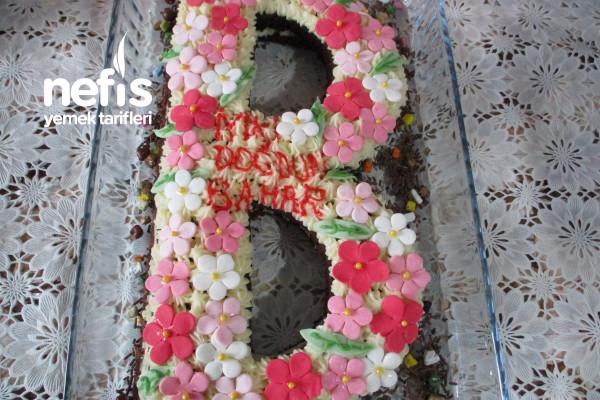 Doğum Günü Harf Pasta Tarifi