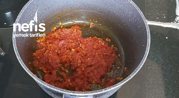Erişteli Yeşil Mercimek Çorbası ( videolu )