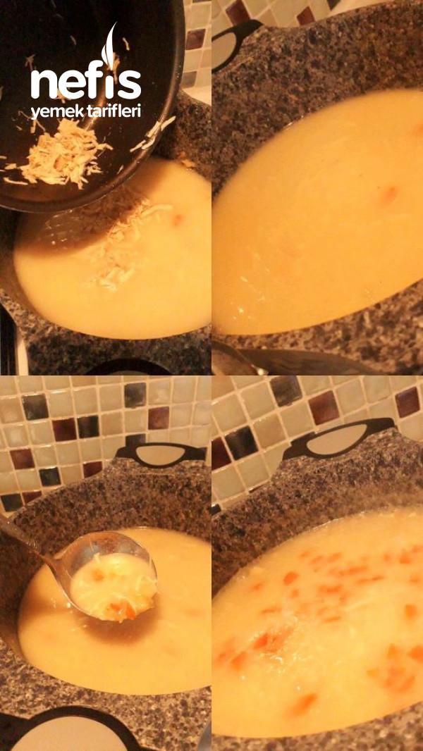 Kesilme Olmayan Nefis Sebzeli Terbiyeli Tavuk Çorbası