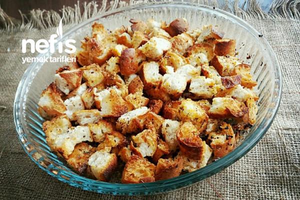 Kruton (Çorbalık Kıtır Ekmek) Tarifi