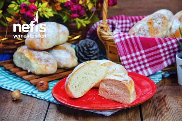 Minik Ekmek   Yumuşacık Bir Ekmek (Videolu) Tarifi