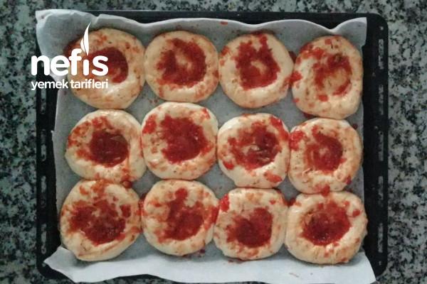 Minik Pizza Poğaça