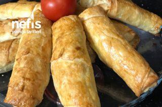 Paçanga Böreği (Fırında Çok Hafif Ve Lezzetli) Tarifi