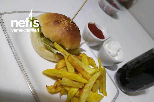 Puf Puf Hamburger Ekmeği Tarifi
