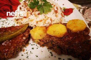Şehriyeli Pilav Eşliğinde Tepsi Kebabı Tarifi