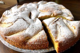 Şık Sunumuyla Nefis Elmalı Kek Tarifi (Videolu)