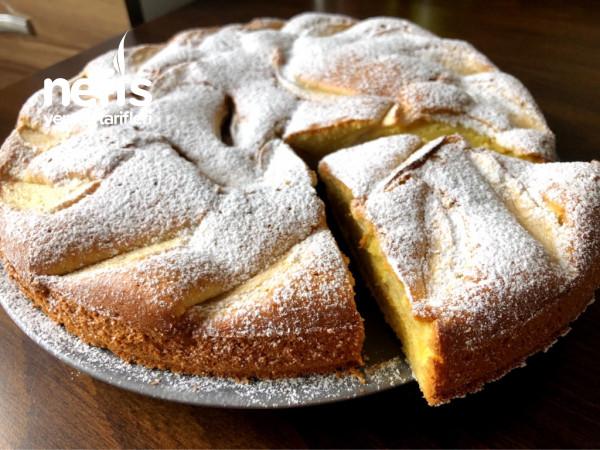 Şık Sunumuyla Nefis Elmalı Kek Tarifi