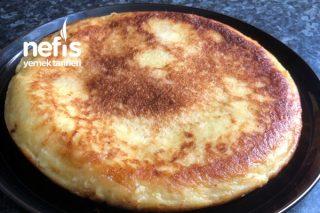 Tavada Patatesli omlet Tarifi