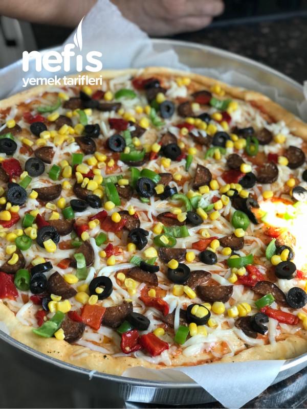 3-4 Kişilik Nefis Pizza