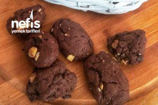 Cookie (Kakaolu Kurabiyeler) Tarifi