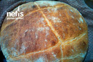 Köy Ekmeği (Kendi Ürettiğim 4 günlük Ekşi Maya İle ) Tarifi