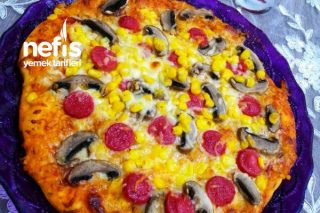 Pratik 2 Kişilik Pizza Tarifi