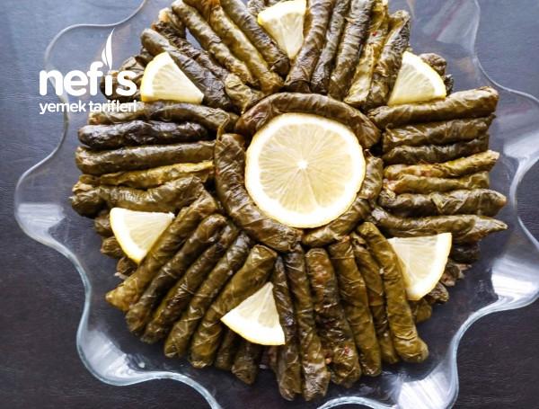 Yiyenlere Tarif Sorduran Zeytinyağlı Yaprak Sarmam