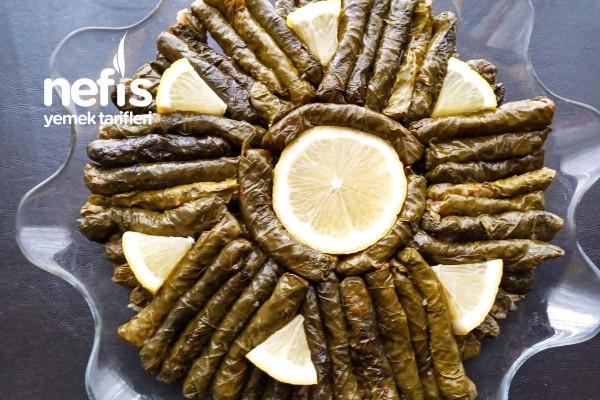 Yiyenlere Tarif Sorduran Zeytinyağlı Yaprak Sarmam (Videolu)