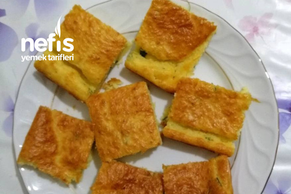 Börek Tadında Peynirli Kek Tarifi