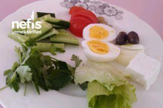 Diyet Kahvaltısı Tarifi