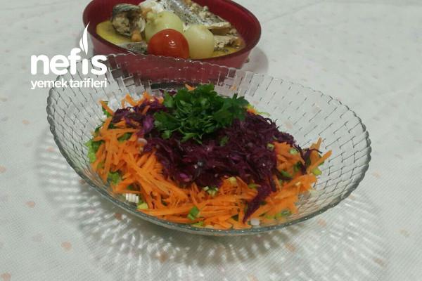 Diyet Kış Salatası Tarifi