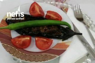 Közlenmiş Patlıcan Karnıyarık Tarifi