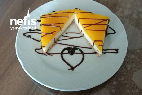 Limonlu Yalancı Cheesecake (Aynı Orjinali Gibi) Tarifi