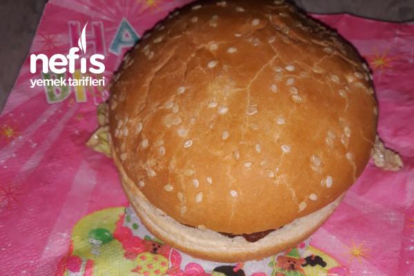 Mücverli Hamburger Yapılışı (Videolu) Tarifi