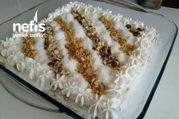 Pasta Görünümlü Etimek Tatlısı