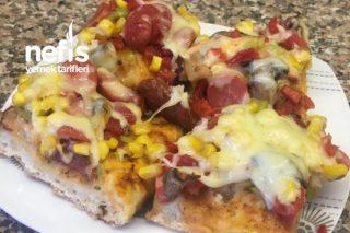 Pizza (Bol Malzemeli) Tarifi