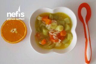 Portakallı Bebe Pırasa +9 Ay Tarifi