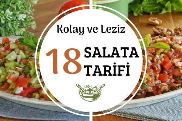 Pratik Salata Tarifleri