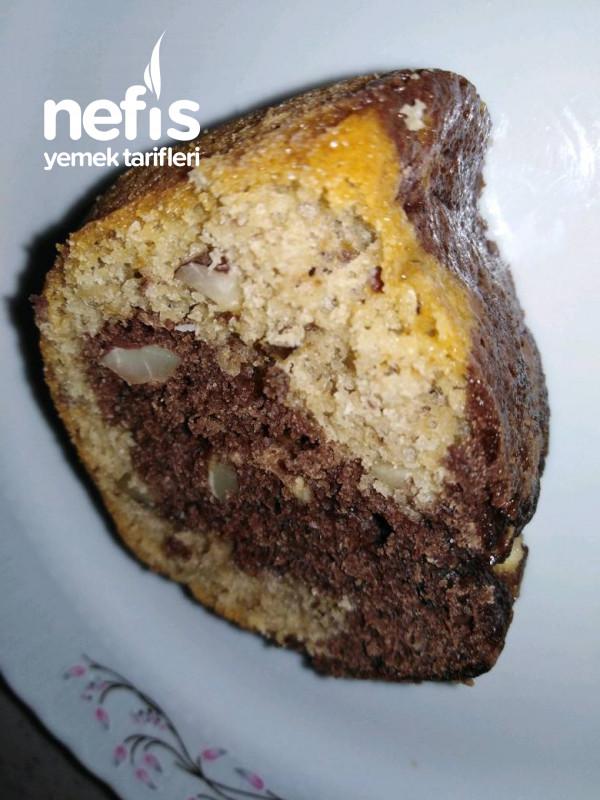Tahinli Çaylı Kek