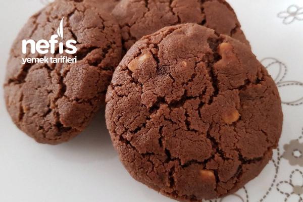 Ağızda Dağılan Çikolatalı Fındıklı Kurabiye Tarifi