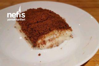 Bisküvili Muzlu Pasta Tarifi