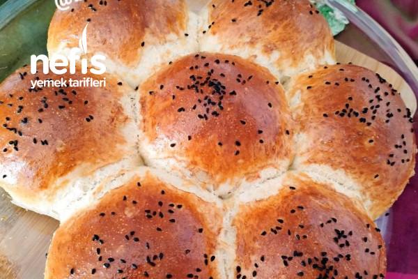Çiçek Ekmek (Tam Kıvamında) Tarifi