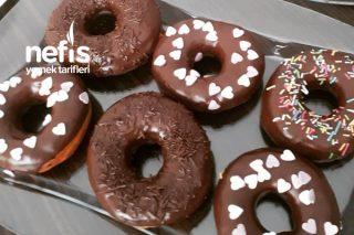 Donut  (Tam Tutan Hamuruyla Bomba Tarif) Tarifi