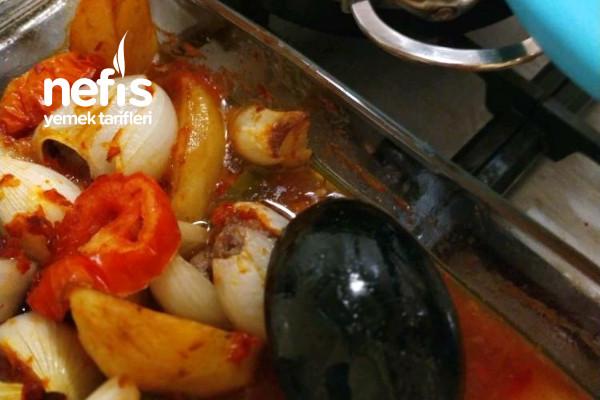 Fırında Köfteli Patates Tarifi