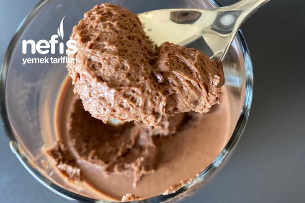 Mousse Au Chocolat (Köpük Çikolata ) Tarifi
