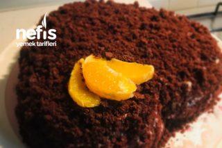 Portakallı Kalpli Pasta Tarifi