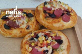 Tam Tarif Puf Pizza Tarifi