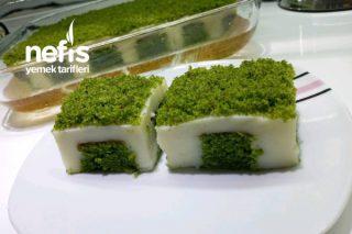 Yeşillim Poke Kek Tarifi