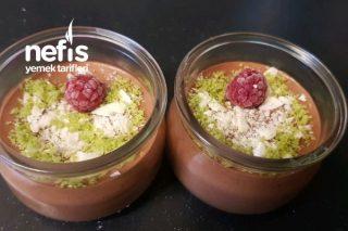 Yumurtasız Çikolatalı Mousse Tarifi