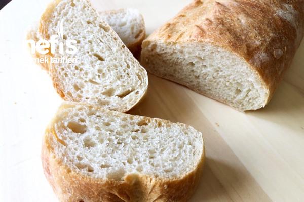 Yumuşacık Nefis Somun Ekmeği Tarifi (Videolu)