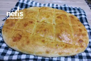 3 Malzeme İle Yumuşacık Ekmek Yapımı (Videolu) Tarifi